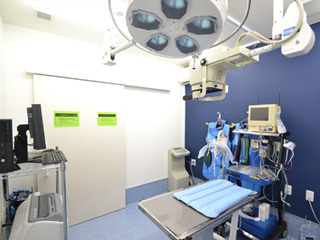 手術・レントゲン室